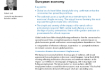 Coronavirus: Potential impact on the European economy