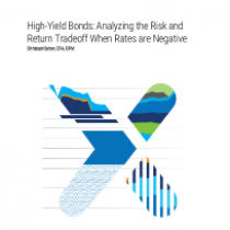 High-Yield Bonds: Analyzing the Risk and Return Tradeoff When Rates are Negative