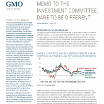 Memo to the Investment Committee: Dare to be Different