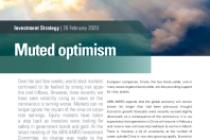 Muted optimism