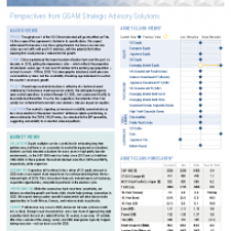 Perspectives from GSAM Strategic Advisory Solutions