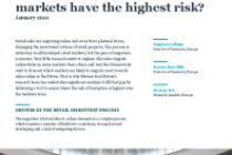 Retail disruption: which markets have the highest risk?