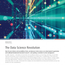 The Data Science Revolution