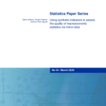 Using synthetic indicators to assess the quality of macroeconomic statistics via mirror data