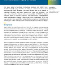 130/30 Long-Short Equity Strategies