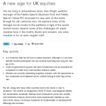 A new age for UK equities