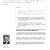 A review of global markets and portfolio positioning in Q1