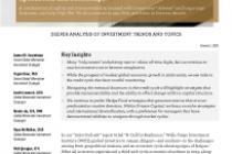 Alternative Investments In Depth Report—Speedboats and Battleships