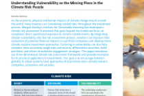 Climate Impact Understanding Vulnerability as the Missing Piece in the Climate Risk Puzzle