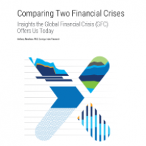 Comparing Two Financial Crises