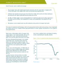 Covid-19 update: European high yield market moves