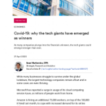 Covid-19: why the tech giants have emerged as winners
