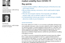 Credit markets will remain challenged amid market volatility from COVID-19