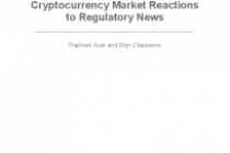 Cryptocurrency Market Reactions to Regulatory News – Globalization Institute Working Paper No. 381 – Dallas Fed