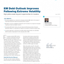 EM Debt Outlook Improves Following Extreme Volatility
