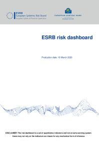 ESRB risk dashboard, April 2020 (Issue 31)