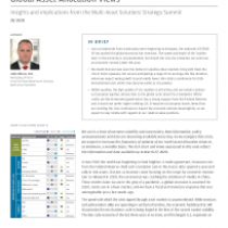 Insights and implications from the Multi-Asset Solutions Strategy Summit 2Q 2020