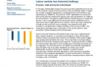Labour markets face historical challenge