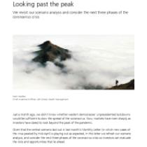 Looking past the peak