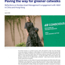 Paving the way for greener catwalks