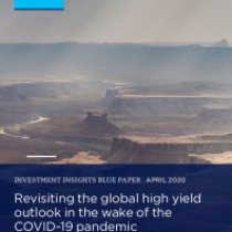 Revisiting the global high yield outlook in the wake of the COVID-19 pandemic