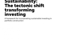Sustainability: The tectonic shift transforming investing