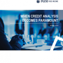 When Credit Analysis Becomes Paramount