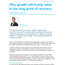 Why growth will trump value in the long grind of recovery