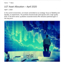 Asset Allocation – April 2020
