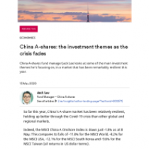 China A-shares: the investment themes as the crisis fades