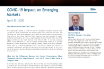 COVID-19 Impact on Emerging Markets