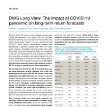 DWS Long View: The impact of COVID-19 pandemic on long-term return forecasts
