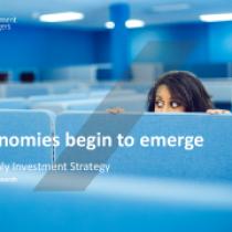 Economies begin to emerge