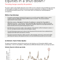 Equities in a shut-down?