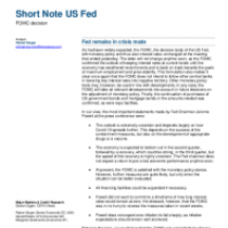 Fed remains in crisis mode