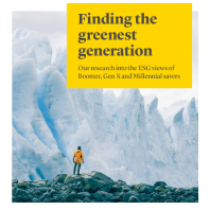 Finding the greenest generation