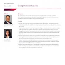 Going Global in Equities