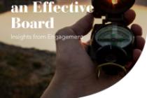Guiding Principles for an Effective Board