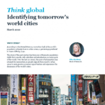 Identifying tomorrow's world cities