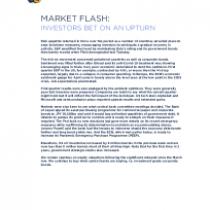 Investors bet on an Upturn