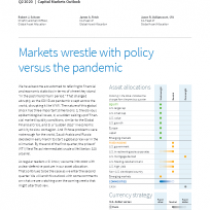 Markets wrestle with policy versus the pandemic