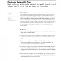 Morningstar Sustainability Atlas