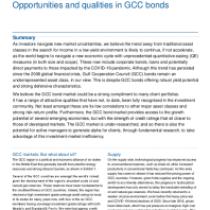 Opportunities and qualities in GCC bonds