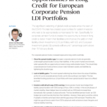 Opportunities in Long Credit for European Corporate Pension LDI Portfolios