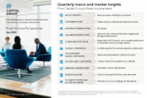 Quarterly macro and market insights