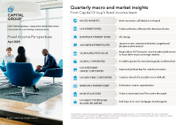Quarterly macro and market insights