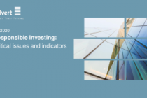Responsible Investing: Critical issues and indicators Q1 2020