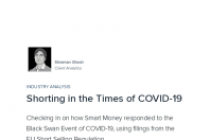 Shorting in the Times of COVID-19