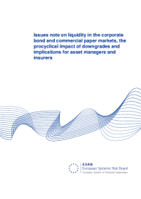 Issues note on liquidity in the corporate bond and commercial paper markets