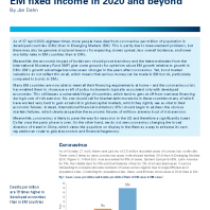 Status update: Coronavirus and EM fixed income in 2020 and beyond